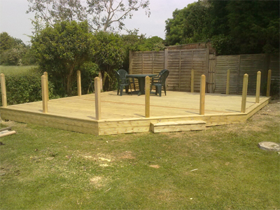 decking patio horsham