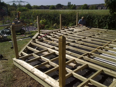 decking rustington frame