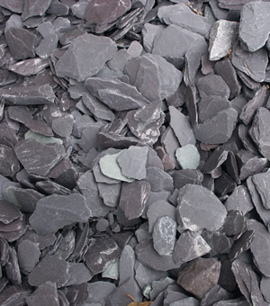 material blue slate chippings