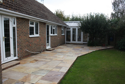 patio indian sandstone eastergate