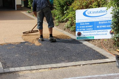 resin bound driveway 8 ruston park rustington sussex BN16 2AB 1